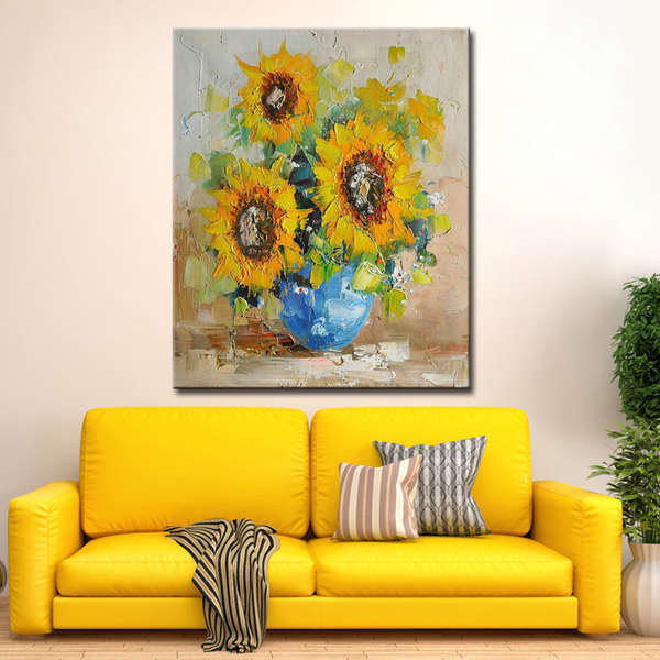 100-Hand-painted-modern-abstract-knife-sunflower (2) - Kopia - Kopia_Easy-Resize.com