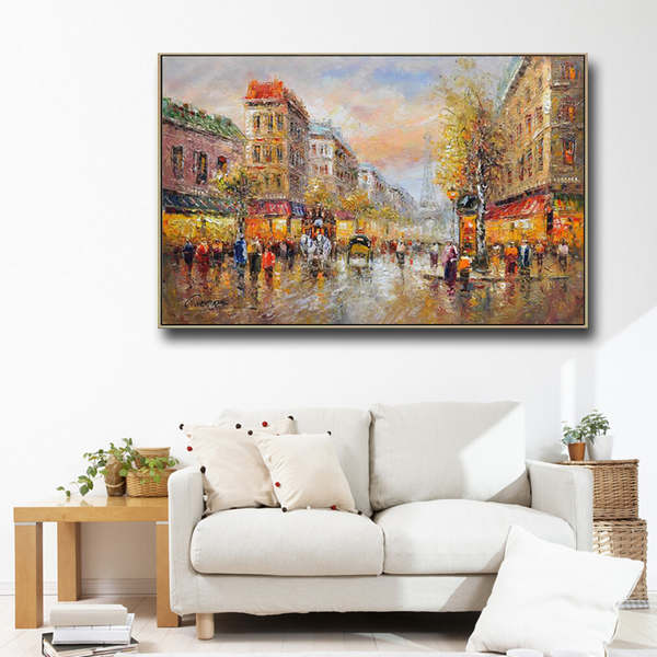 Acrylic-art-palette-knife-streetscape-painting-bar - Kopia_Easy-Resize.com