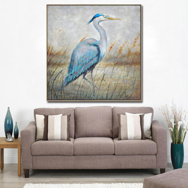 Birds-Handpainted-Oil-Painting-on-Canvas-Modern - Kopia_Easy-Resize.com