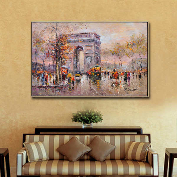 Canvas-Linen-Painting-Artwork-Thick-Painted-Cityscape - Kopia_Easy-Resize.com