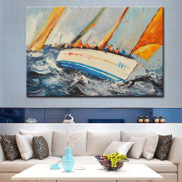 Canvas-oil-painting-ocean-waves-sea-and - Kopia_Easy-Resize.com