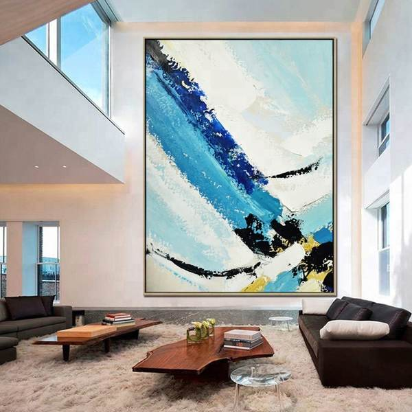 Contemporary-Modern-Decor-Blue-Textured-Oil-Painting_Easy-Resize.com