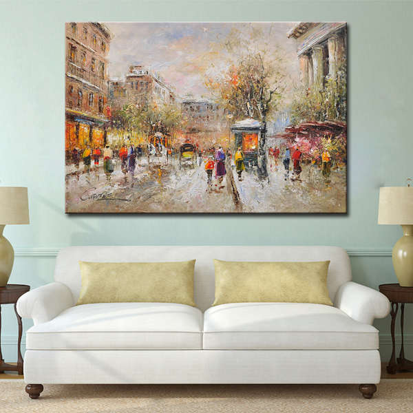 Framed-Art-Knife-French-Street-Impressionist-Paintings (2)_Easy-Resize.com
