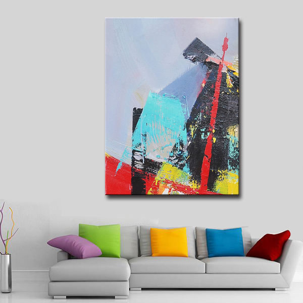 Handpainted-Abstract-Painting-Black-Color-Modern-Decor_Easy-Resize.com