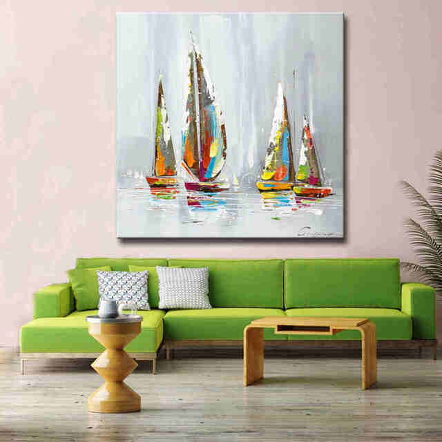 Modern-Hand-Painted-Artwork-Seascape-Boat-Sailing_Easy-Resize.com