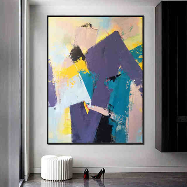 Purple-Wall-Hanging-Canvas-Art-Abstract-Modern (2)_Easy-Resize.com