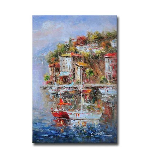 Wall-Art-3D-Decorative-Panel-Impressionist-Mediterranean (1)
