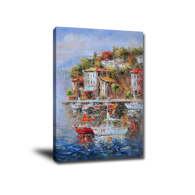 Wall-Art-3D-Decorative-Panel-Impressionist-Mediterranean (2)
