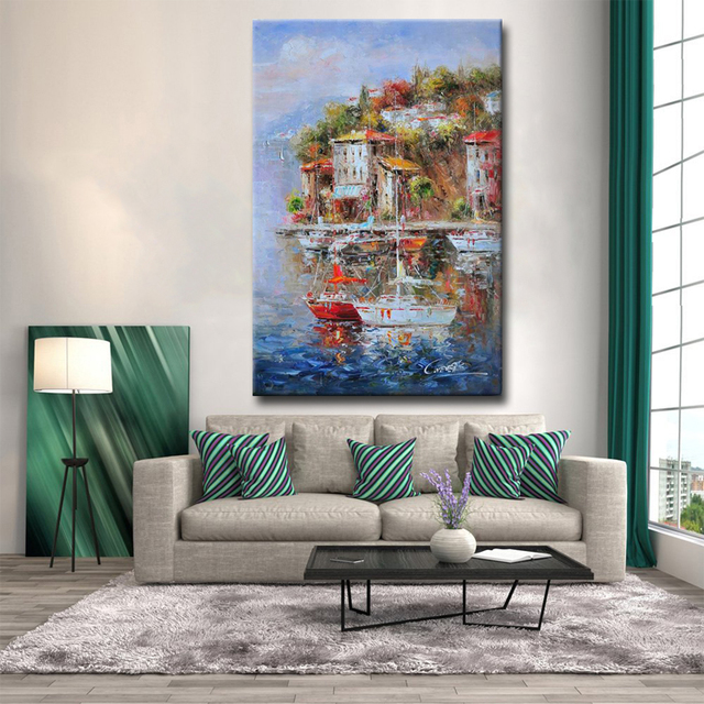 Wall-Art-3D-Decorative-Panel-Impressionist-Mediterranean (3)