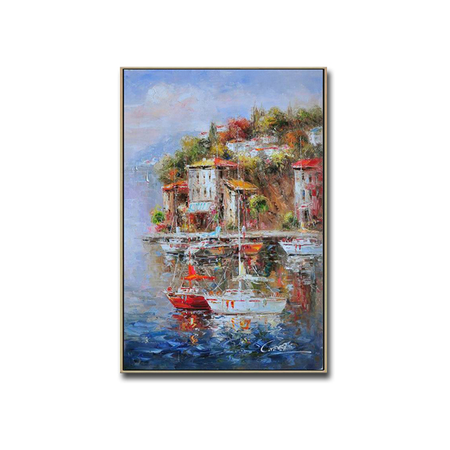 Wall-Art-3D-Decorative-Panel-Impressionist-Mediterranean