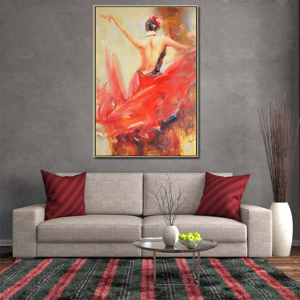 flamenco-spanish-red-lady-dancing-women-oil (3)_Easy-Resize.com