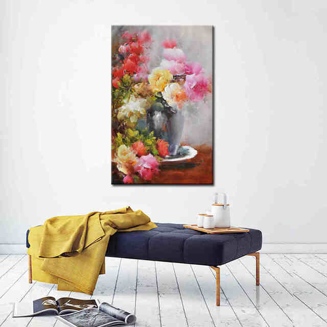 hot-selling-pink-rose-flower-oil-painting (2)_Easy-Resize.com